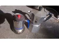 Italian coffee percolaters excellent central London bargain
