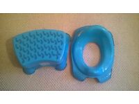MATCHING TOILET SEAT & STEP