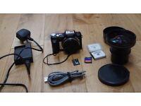 Sony Cyber-shot DSC-H3 8.1MP Digital Camera + VLC-DH0758 Lens