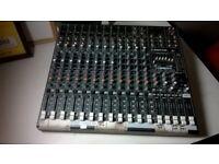 ProFX16 mixer desk (£390 new) excellent central London bargain