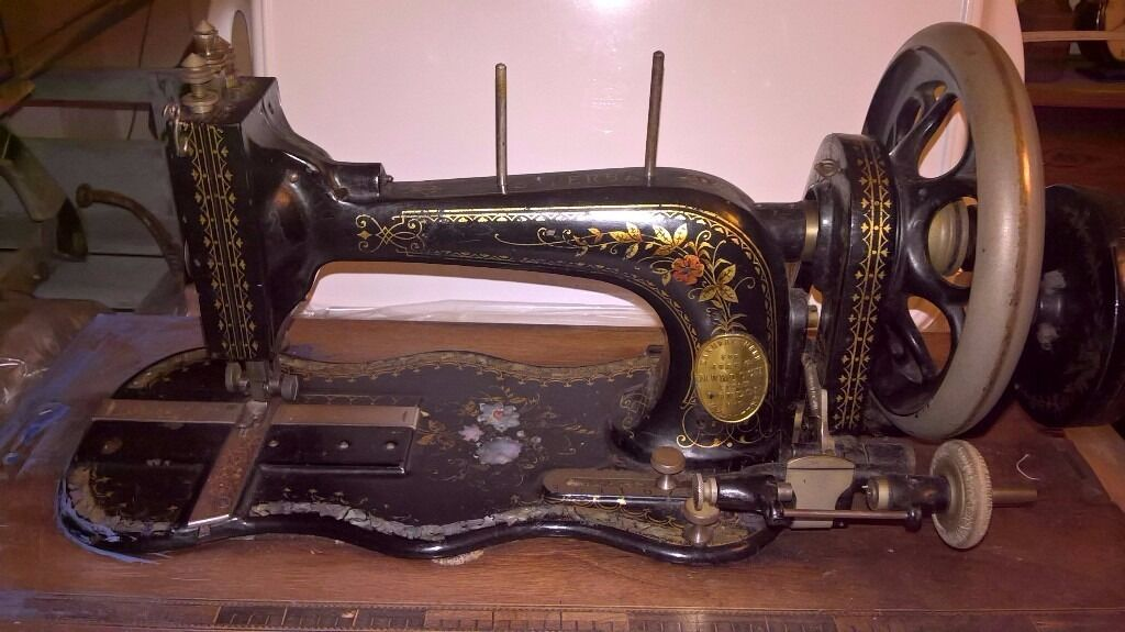 Vintage sewing machine. The Superba