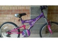Girls Freespirit 'Bubble' Bike
