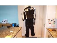 frank thomas textile motorcycle jacket and trousers