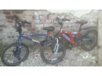 Bmx plus child's mountain bike