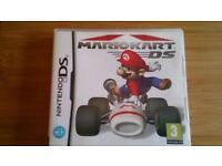 Nintendo DS game, Mariokart, original 2005 game.