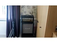Marshall Zaak Wylde sig 15w half stack and Stagg 3/4 size Stratocaster