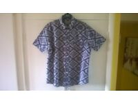 Men's Casual Floral Shirt by TU size Large