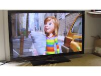 "SAMSUNG PS50C450 50"" Widescreen 600 Hz Full HD 1080p TV / Build in freeview / 3x HDMI/ USB"