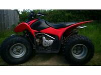 Honda Trx 90 electric start quad bike