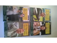 All Creatures Great & Small - Series 1, 8 episodes VHS video format - PRICE NOW REDUCED