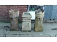 victorian chimney pots