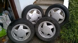 """13"""" alloys and tyres"""