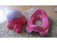 potty and seat