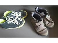Boys size 8 clarks shoes