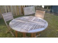 Garden Table and Chairs NEW