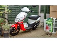Cordi Daelim 50cc scooter/moped. Only 486 miles, as new, no mot