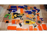 Nerf Guns- 10 total, 2 automatic, choose the guns you want