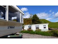 Caravan for hire Scotland Comrie Highland