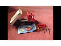 Playmobil construction lorry