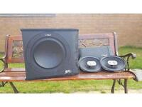 For sale vibe subwoofer and amp