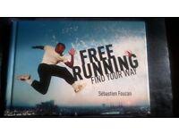free running sebastien foucan hb book mint unread state.