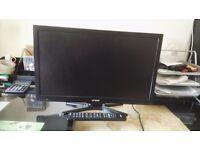 Flat screen TV 19 inch