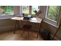HAY Copenhague desk, oak lacquered, RRP £465