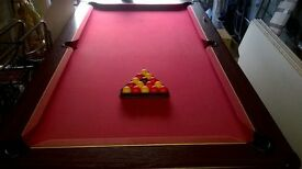 Full Size Pub Pool Table
