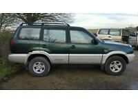 Nissan Terrano x 3 breaking for parts.