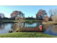Semi Detached Holiday Lodge for sale at Yaxham Water Holiday Park in rural Norfolk ideal for letting