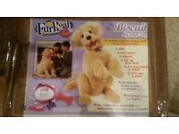 Fur real biscuit the dog interactive toy large