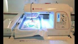 Embroidery Singer Futura XL580 machine