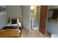 single en-suited room in a small house in South Shields town centre ,recently modernised