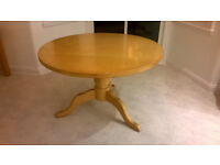 Dining Table and Chairs - Maple