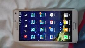 Galaxy Note 4, £195, great condition with case and screen protector
