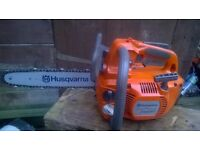 husqvarna 338xpt top handle chainsaw