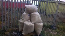 Oak Saw Dust ,briquettes firewood