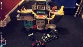 Imaginext bat cave and accessories