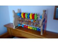 Teletubbies Wooden Abacus