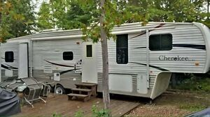 2008 forest river rv cherokee lite 295b fifth wheel trailer