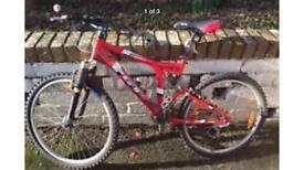 Gt idrive full suspension mountain bike