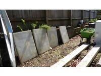 Concrete slabs and lintels