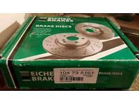 Brake discs for citroen