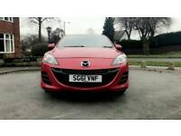 MAZDA 3 TS 2011 1596 CC PETROL 5 DOOR HATCHBACK MANNUAL 2 OWNERS 44K