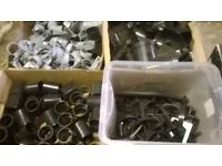 job lot of gutter brackets / fitting - guttering
