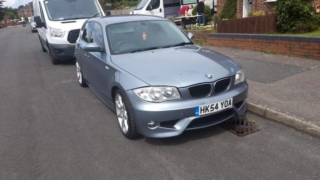 bmw 120d m sport 2005 auto turbo diesel in ilkeston derbyshire gumtree. Black Bedroom Furniture Sets. Home Design Ideas