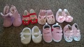 bundle of girls shoes