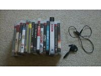 15 PS3 games and wireless headset/microphone