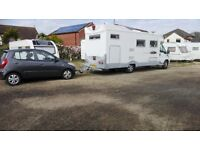2006 autocruise frobisher xl motorhome and 2013 hyundai i10 tow car