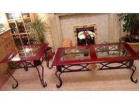 SET OF TWO COFFEE/OCCASIONAL TABLES/SELL AS SET OR SEPERATELY